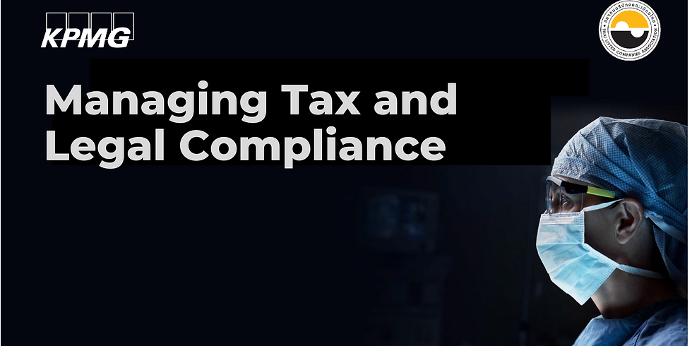 KPMG - Managing Tax and Legal Compliance