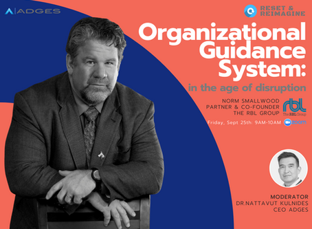 Organizational Guidance System in the age of disruption