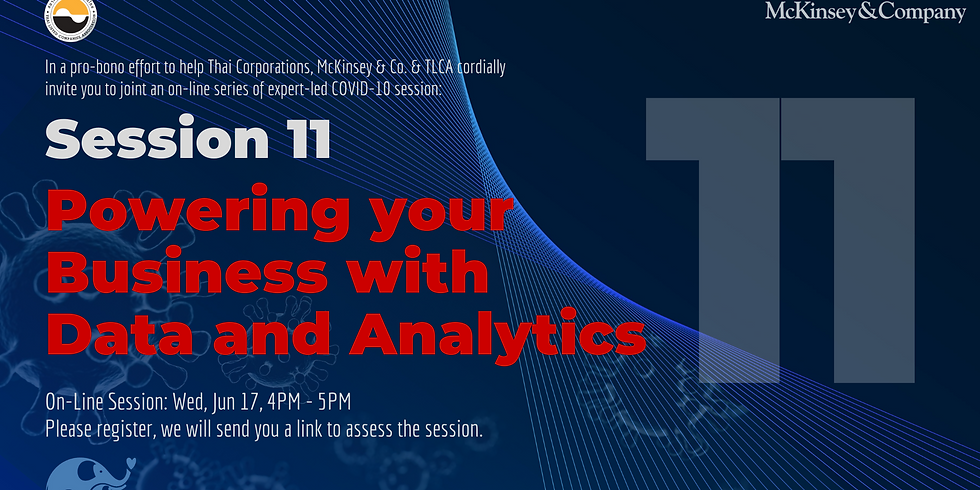 McKinsey & Co. Session 11: Powering your Business with Data and Analytics