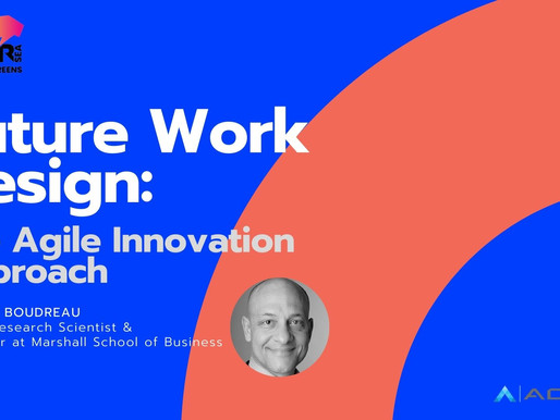 The Agile Innovation Approach to the Future of Work