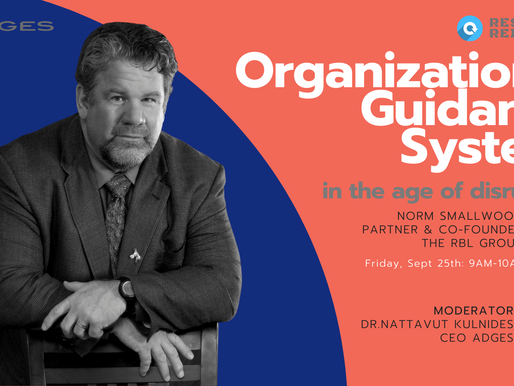 "Reset & Reimagine Webinar Series: ""Organizational Guidance System"" in the age of disruption"