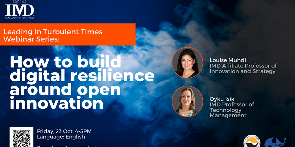How to build digital resilience around open innovation