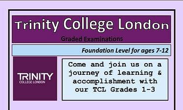 Foundation Grades 1-3 Trinity College London