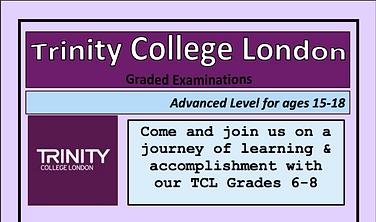 Advanced Grades 6-8 Trinity College London
