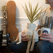 laine musique et plante pour un beau BennyWool