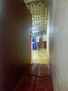 spider wall, cargo net