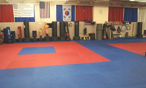 Taekwondo floor and equipment