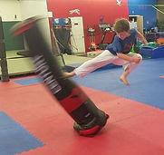Flying Side Kick