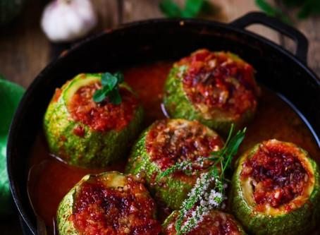 Lebanese Stuffed Zucchini