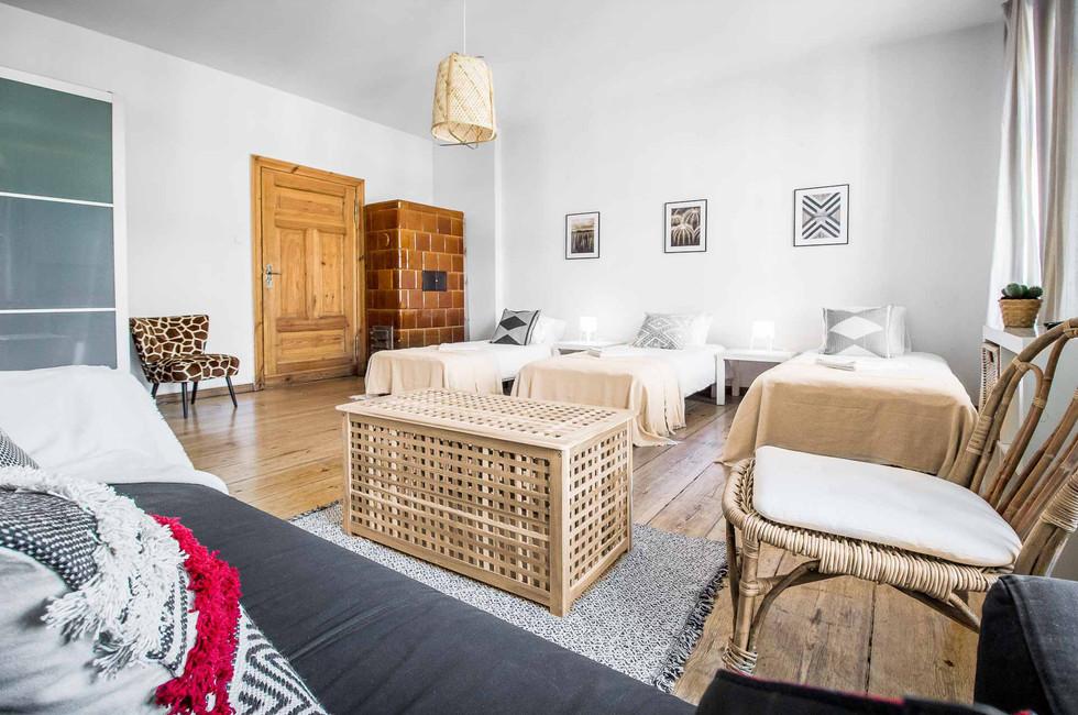 Apartment na doby z 3 sypialniami Poznan Stary Rynek