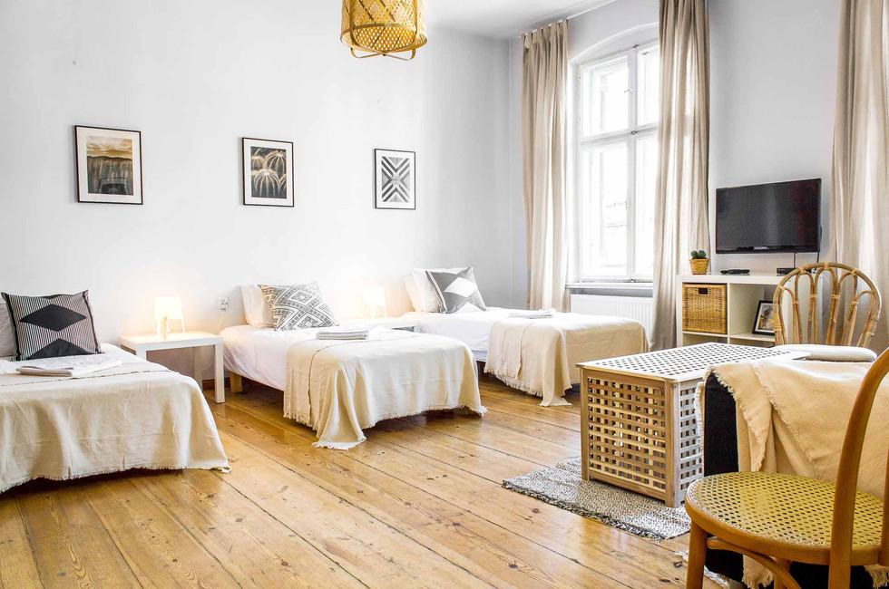 Apartment z 3 sypialniami Poznan Stary Rynek