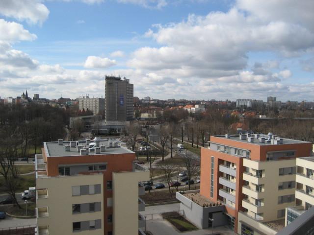 Poznan Kutrzeby Apartments View.JPG