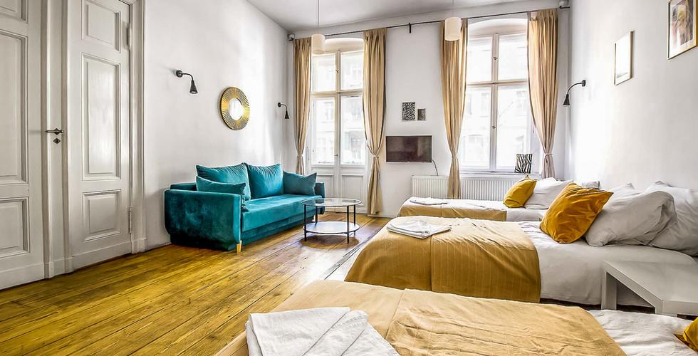 Apartment 6 7 8 osob Poznan Old Town (1