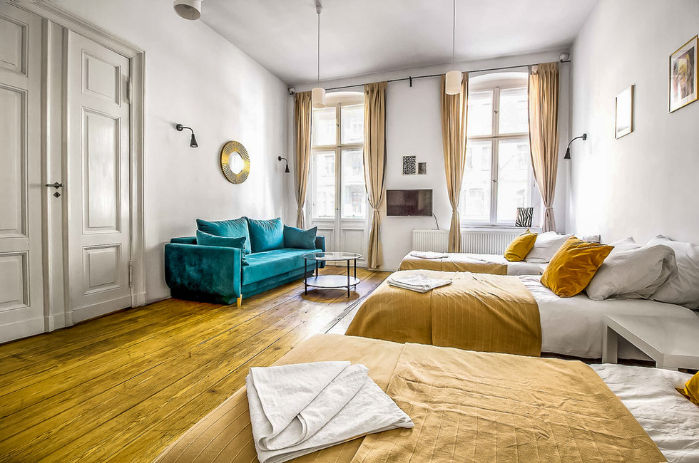 Apartment 6 7 8 osob Poznan Old Town (1