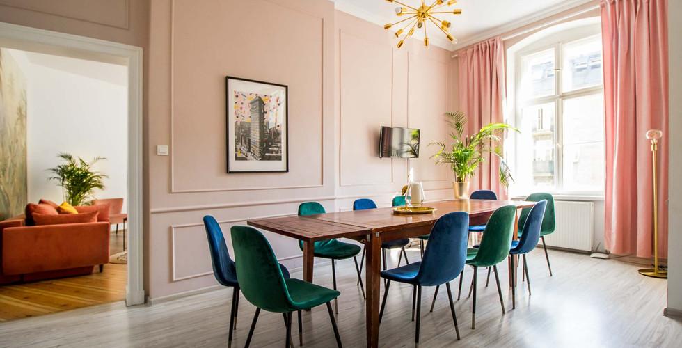 Apartment imprezowy z 4 sypialniami Poznan Old Tow