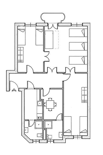 Apartament dla 6 7 8 osób Poznań