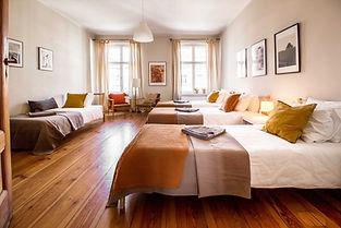 Apartament na wieczór kawalerski pojedyncze łóżka