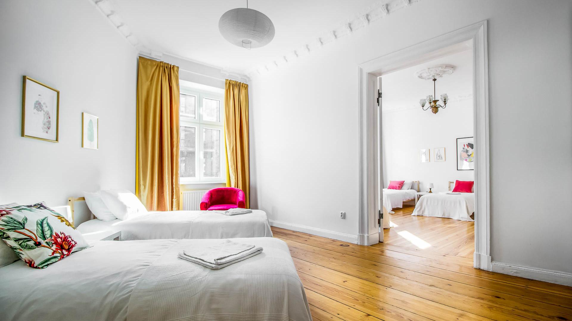 Apartment z 4 sypialniami Poznan Old Tow
