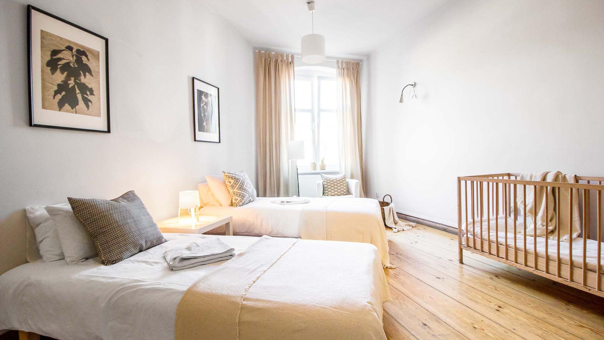 Apartment z 3 sypialniami Poznan Old Tow