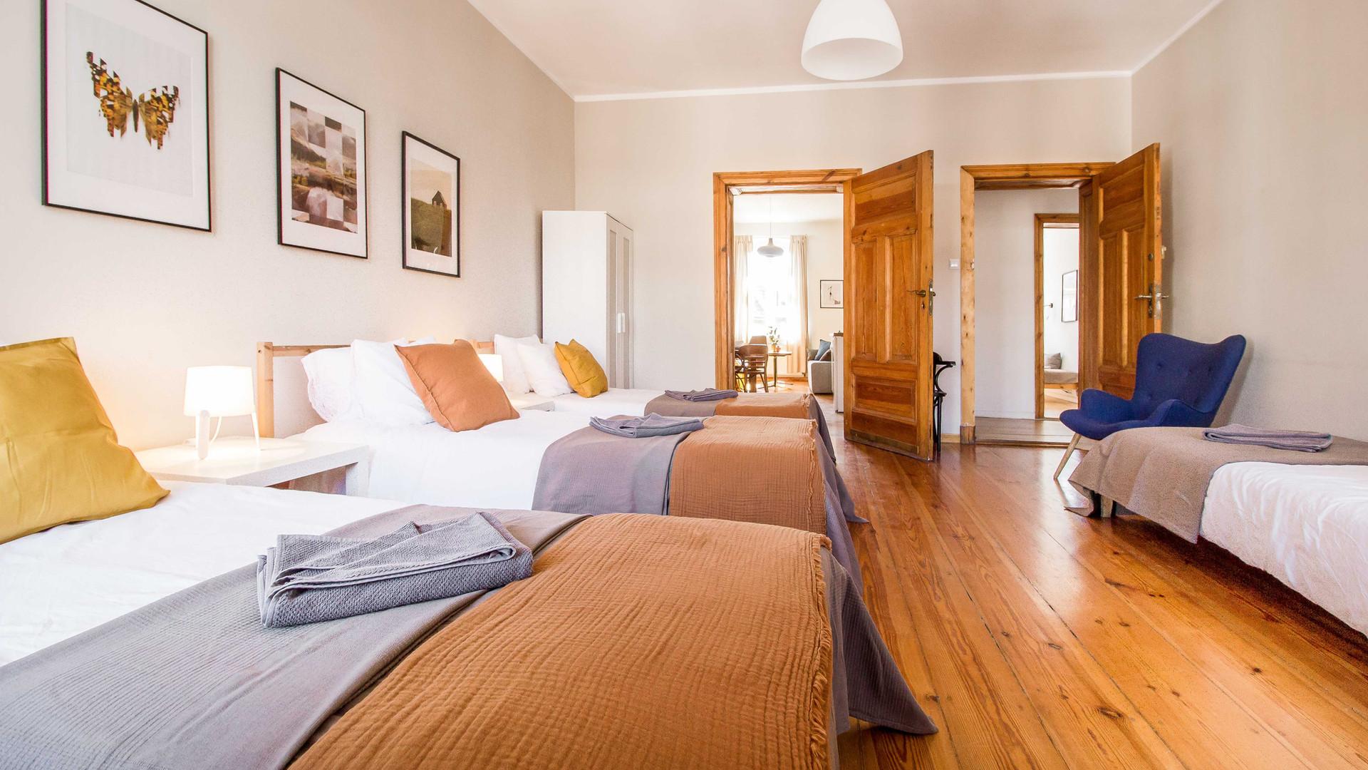 Apartament z 2 sypialniami Poznan Stary