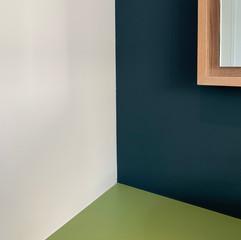Farbgestaltung Badezimmer Renovation Eigentumswohnung
