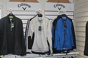 Golf clothing and equipment at Berkhamsted Golf Range