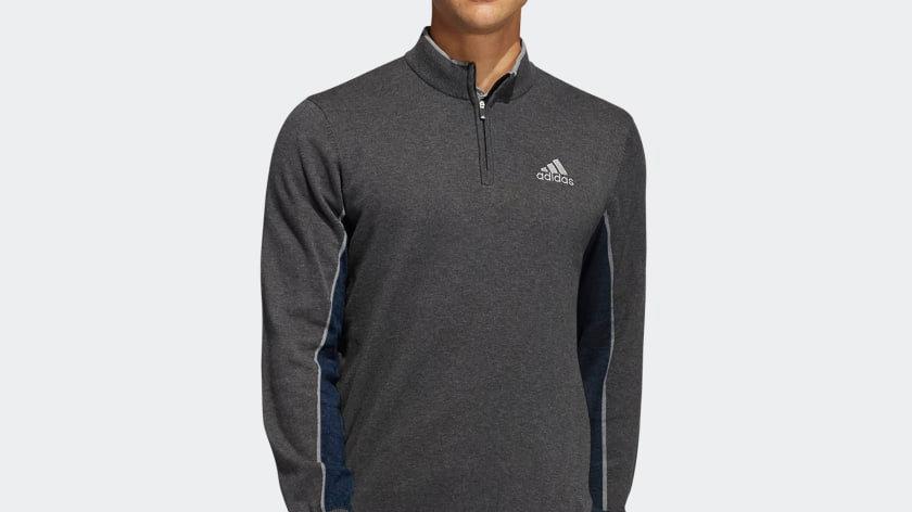 Adidas Adipure Half Zip Sweater