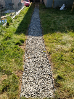 Gravel installation