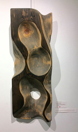 Free form wood carving