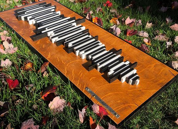 Custom Sound Wave Art - Piano