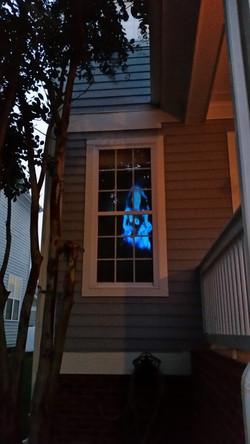 Animated Ghost Window