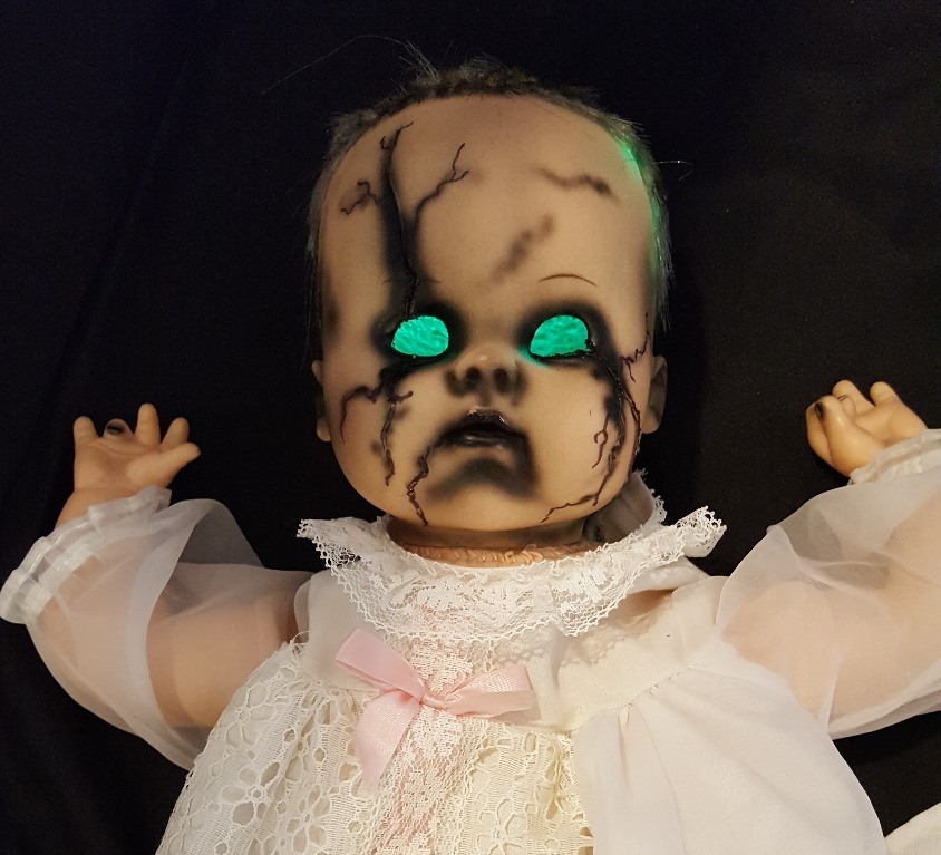 Creating a Freaky Baby Puppet Prop