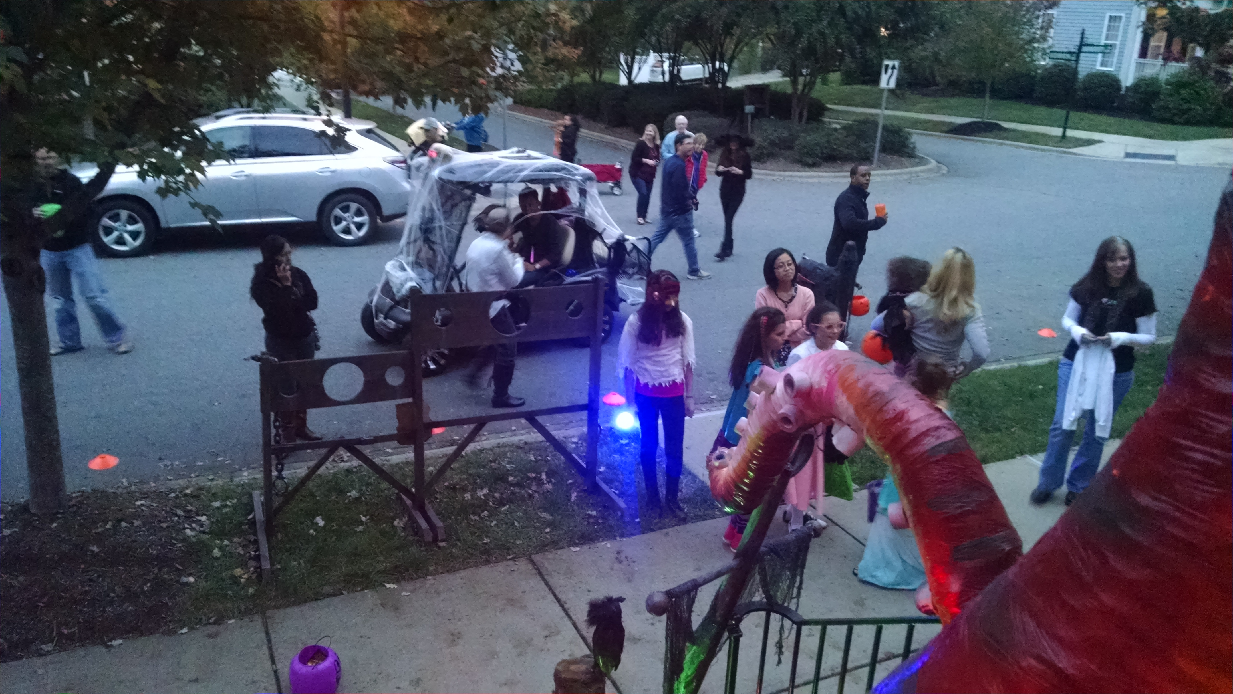 Pirate Halloween Yard
