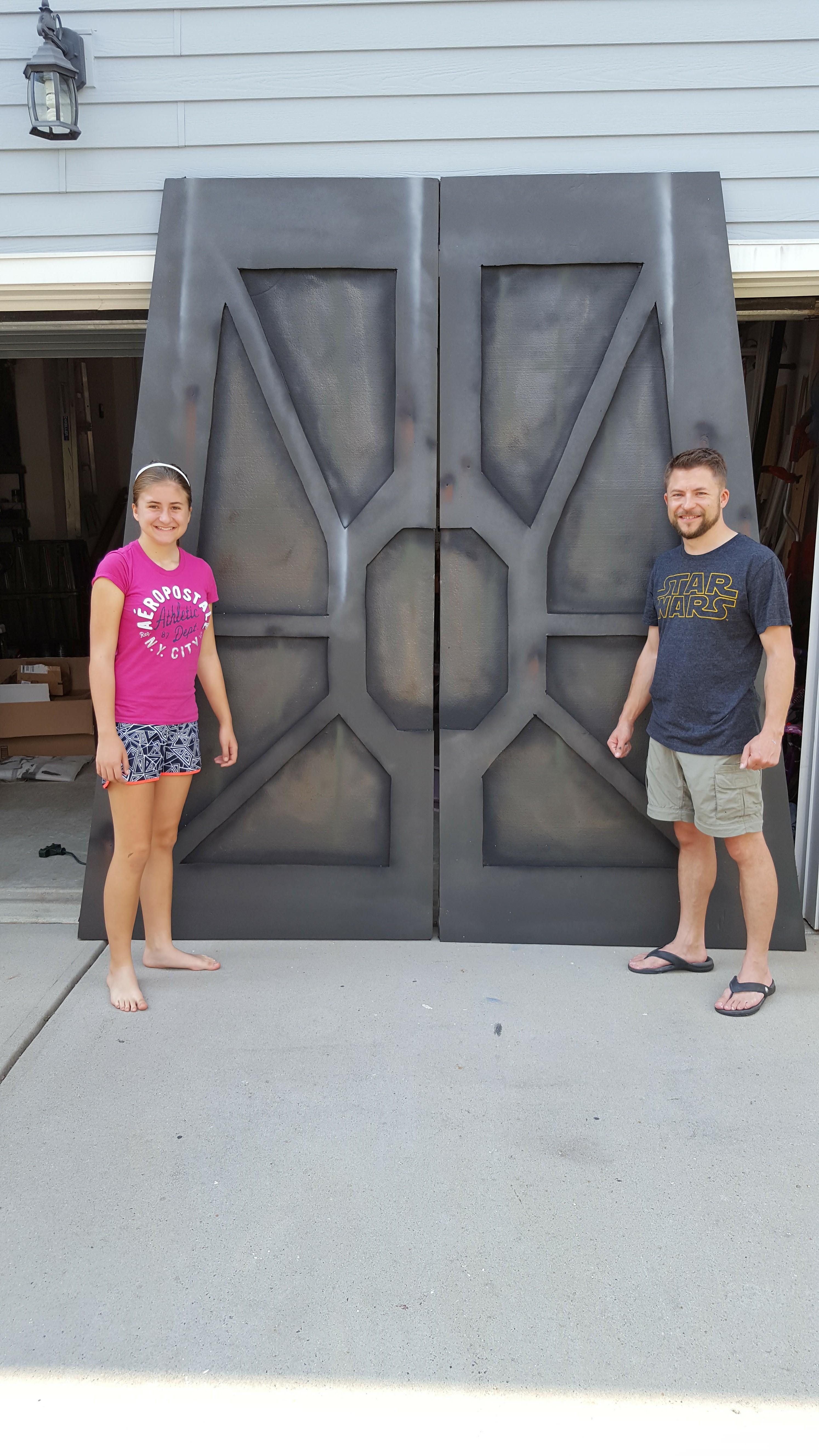 Star Wars Base Doors Decoration