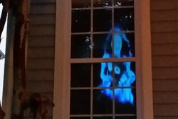 Pirate Halloween Projection