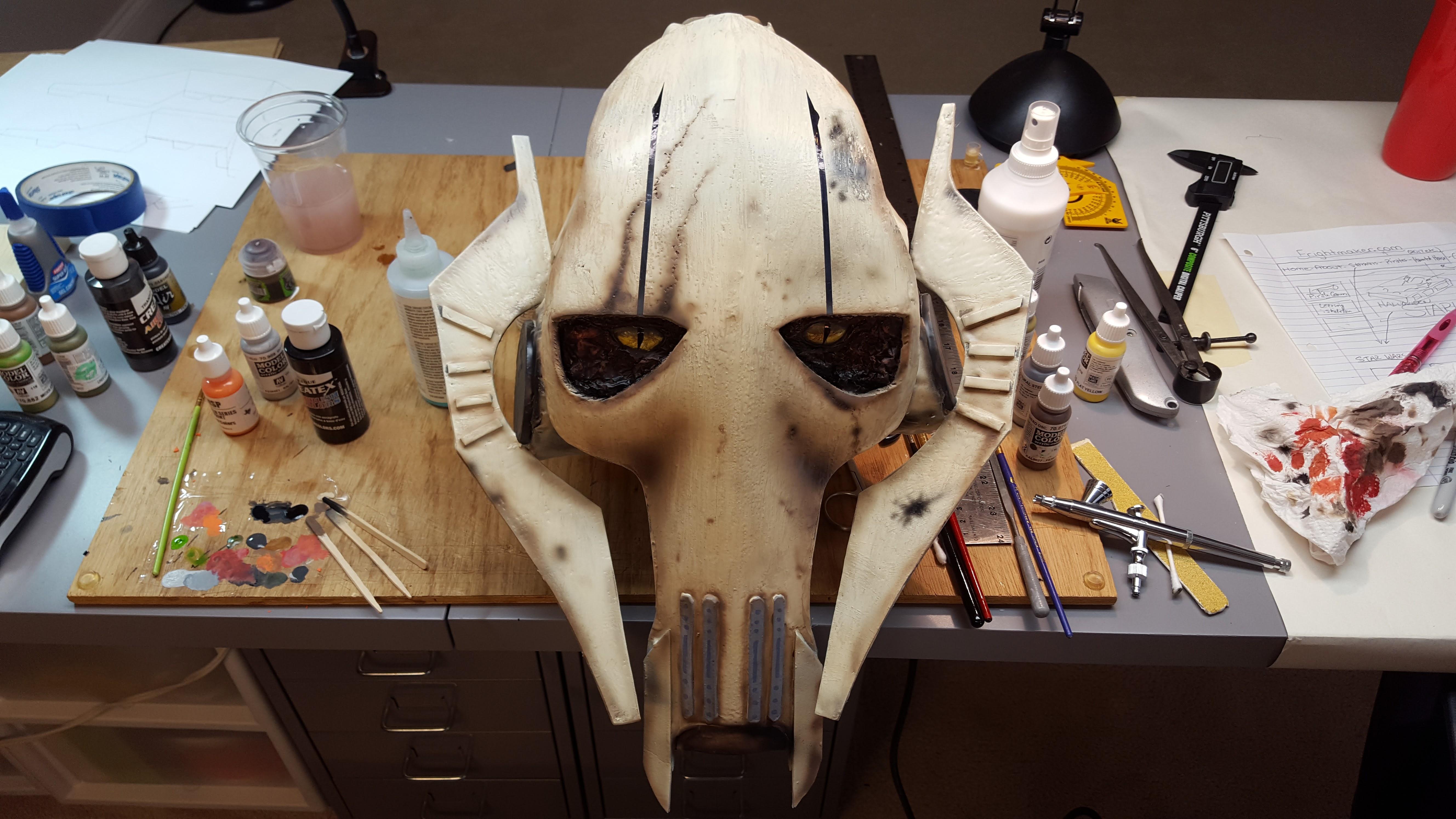 Star Wars General Grievous Head