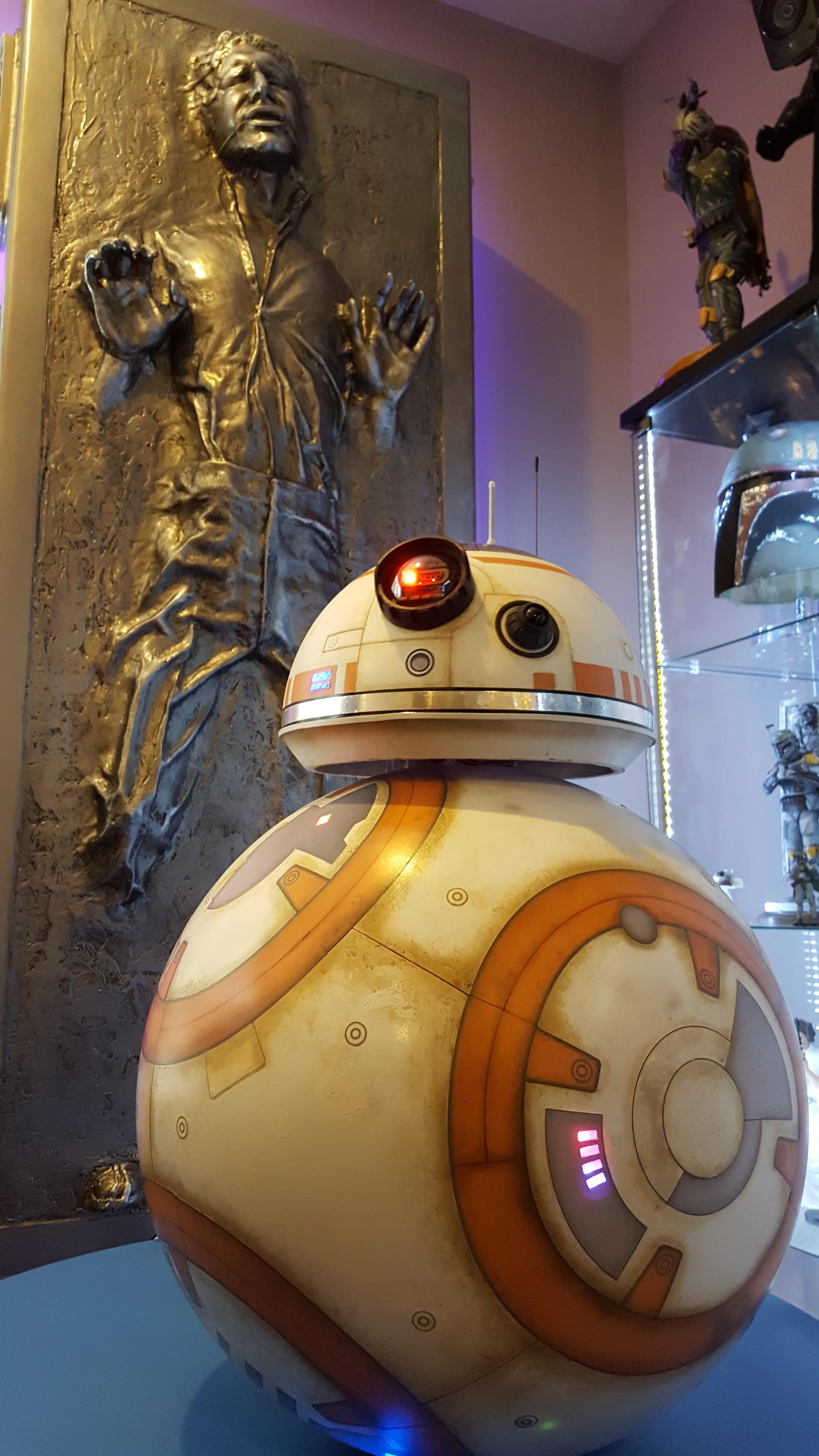 Star Wars Han Solo Carbonite BB-8