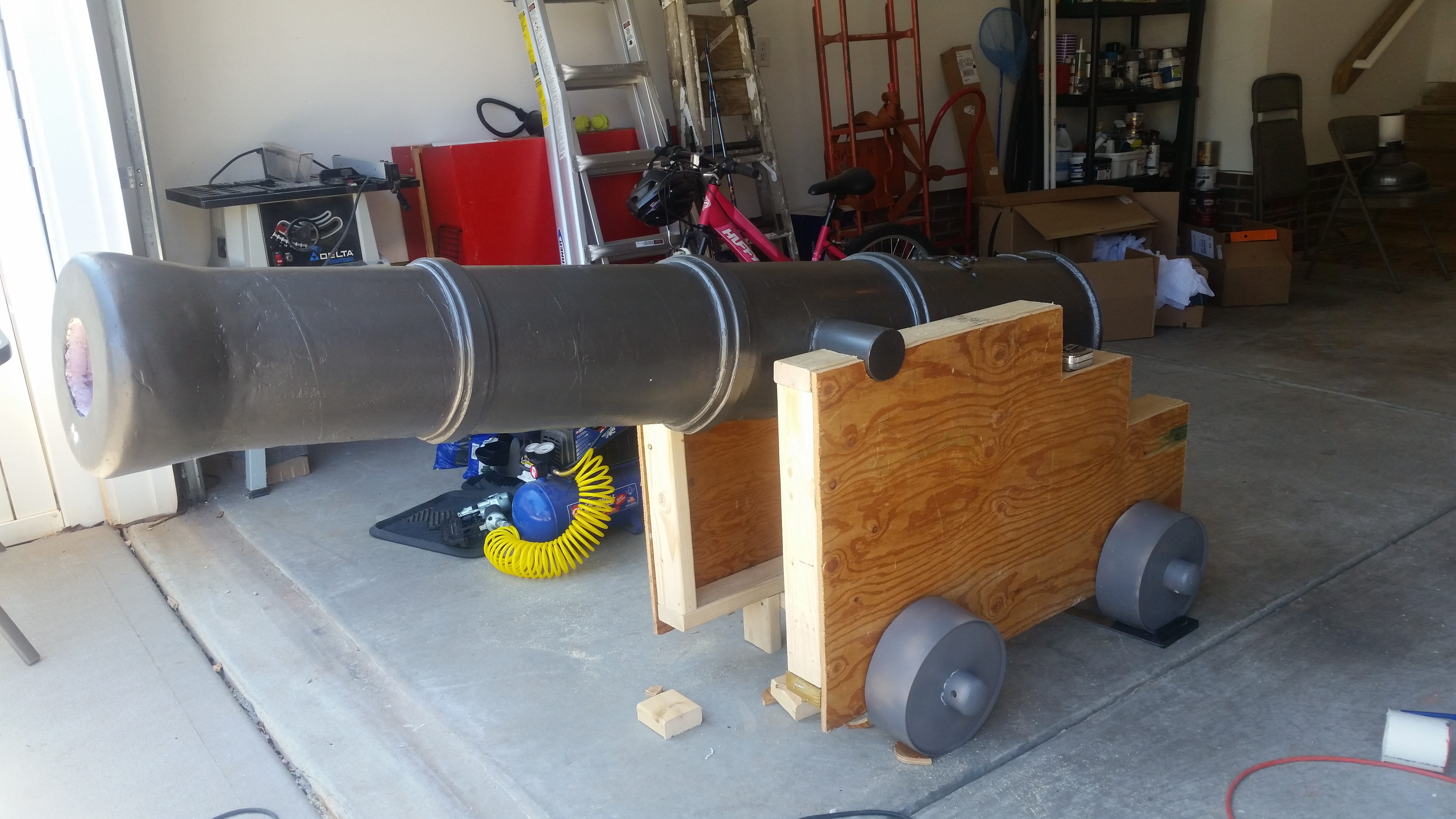 Halloween Pirate Cannon