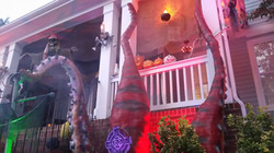 Pirate Halloween Sea Monster Kraken