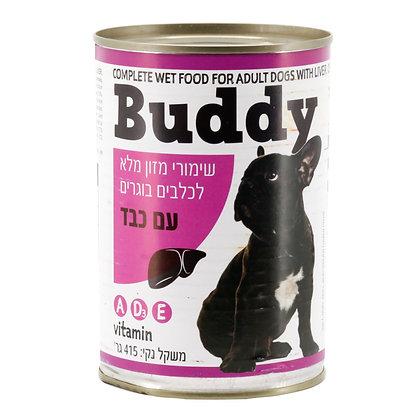 שימורי מזון מלא לכלבים בוגרים עם כבד