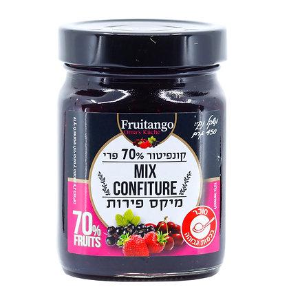 קונפיטור 70% פרי - מיקס פירות