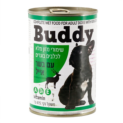 שימורי מזון מלא לכלבים בוגרים עם בשר אייל