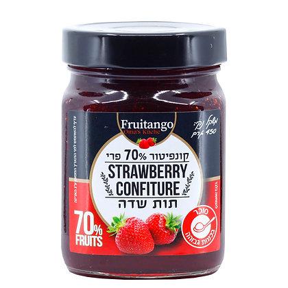 קונפיטור 70% פרי - תות שדה