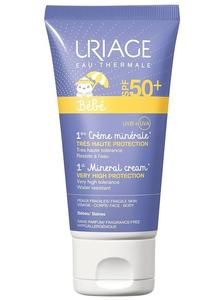 Uriage 1 Creme Mineral Bebé FPS 50+