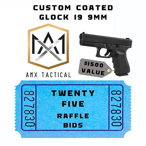 AMX Tactical Handgun - 25 bids