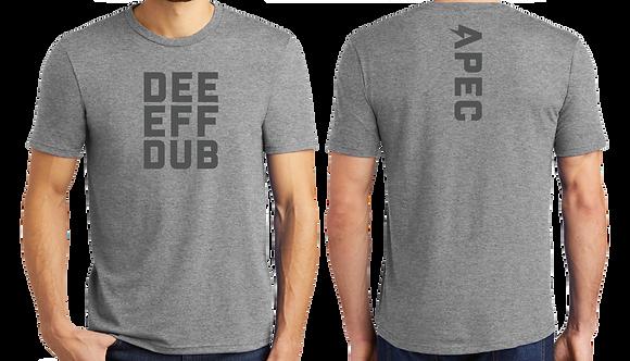 DEE-EFF-DUB Tee - Grey
