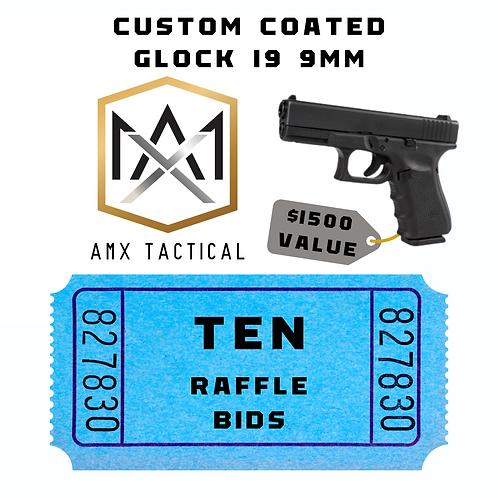 AMX Tactical Handgun - 10 bids