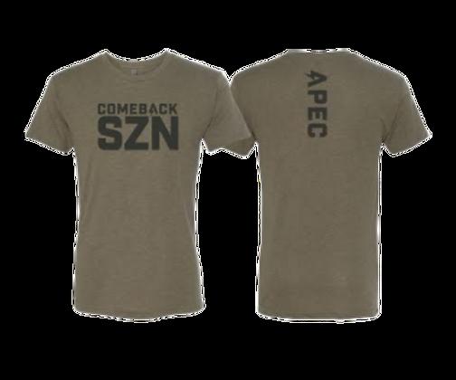 Comeback SZN Tee - Military Green