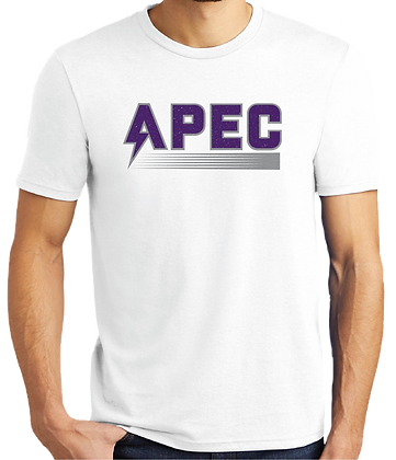 Retro APEC Tee - Purple/White