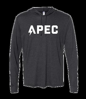 APEC Team Hoodie Shirt - Tri Blend Dark Grey
